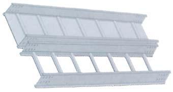 铝合金槽式梯式桥架